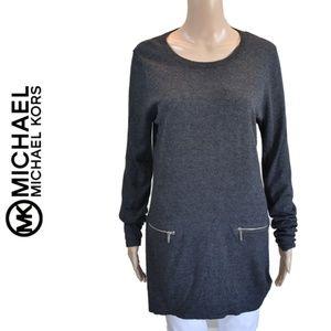 Michael Kors Knit Long Sleeves Dress